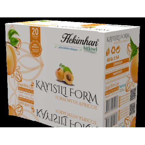 Kayısılı Form Çayı (20 Süzen Poşet)