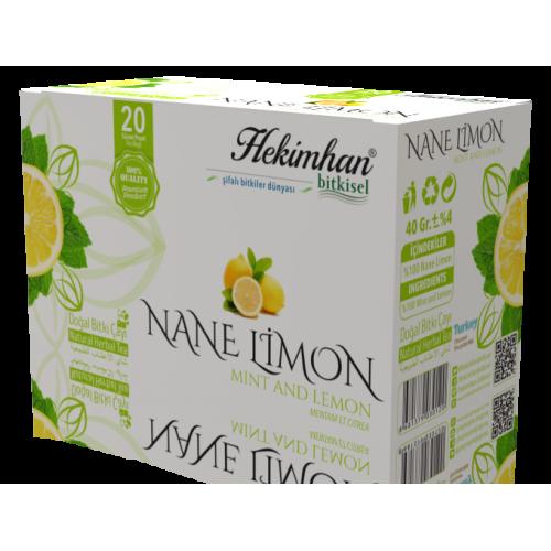 Nane Limon Çayı (20 Süzen Poşet)