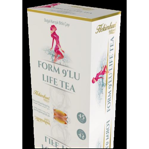 Form 9'lu Life Tea (45 Süzen Poşet)