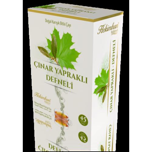 Çınar Yapraklı Karışık Çay (45 Süzen Poşet)