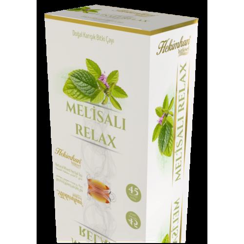 Melisalı Relax Karışık Çay (45 Süzen Poşet)