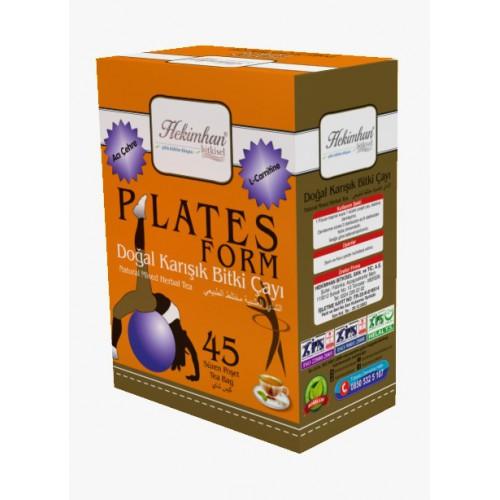 Plates Form Doğal Karışık Bitki Çayı (45 Süzen Poşet)