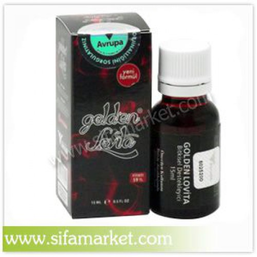 Golden Lovita Bayan Damla 15ml