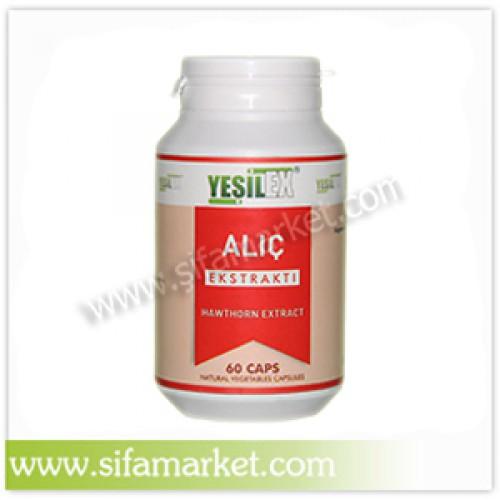 Yeşilex Alıç Ekstraktı 550 mg (60 Kapsül)
