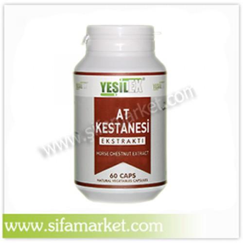 Yeşilex At Kestanesi Ekstraktı 650 mg (60 Kapsül)