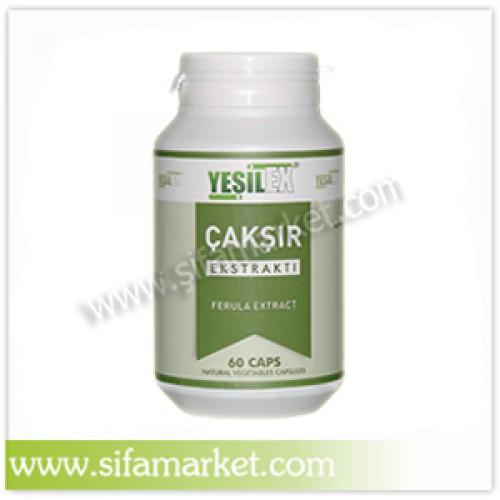Yeşilex Çakşır Ekstraktı 650 mg (60 Kapsül)