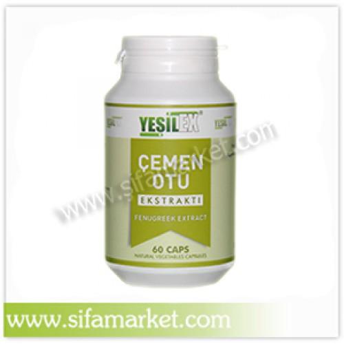 Yeşilex Çemen Otu Ekstraktı 700 mg (60 Kapsül)