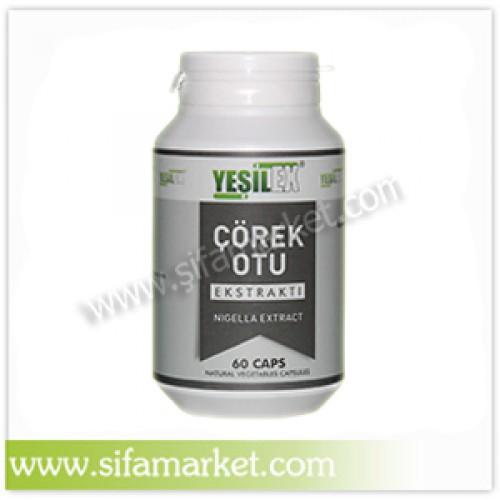 Yeşilex Çörek Otu Ekstraktı 600 mg (60 Kapsül)