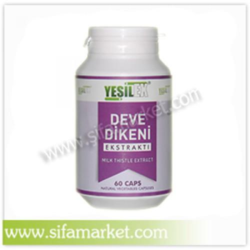 Yeşilex Deve Dikeni Ekstraktı 700 mg (60 Kapsül)