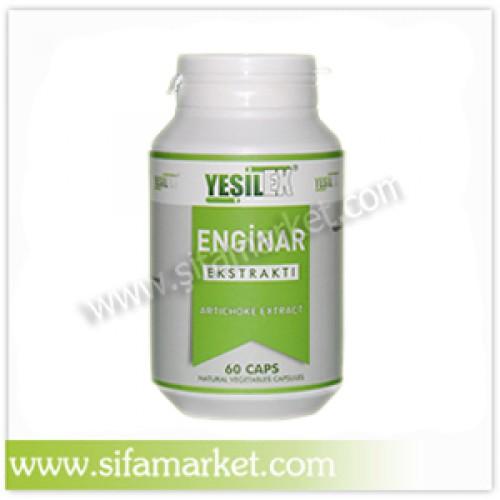Yeşilex Enginar Ekstraktı 680 mg (60 Kapsül)