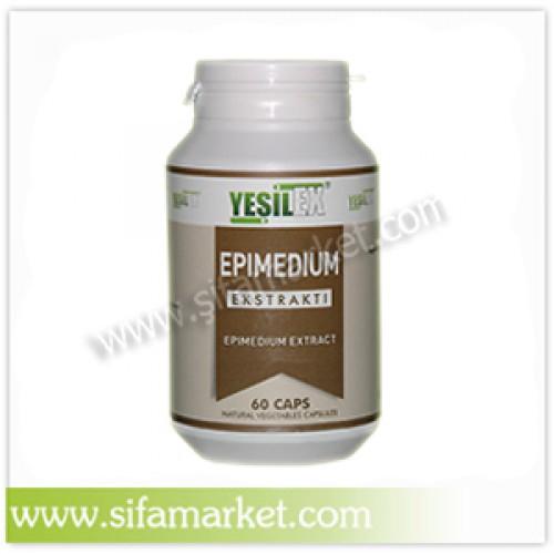 Yeşilex Epimedium Ekstraktı 650 mg (60 Kapsül)