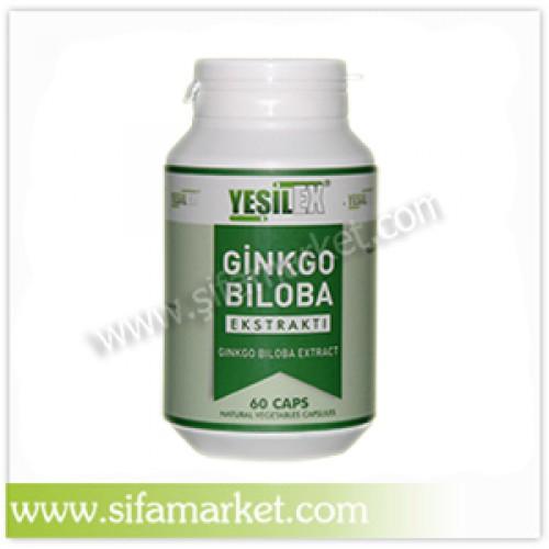 Yeşilex Ginkgo Biloba Ekstraktı 600 mg (60 Kapsül)