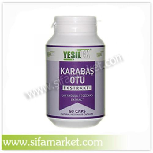 Yeşilex Karabaş Otu Ekstraktı 600 mg (60 Kapsül)