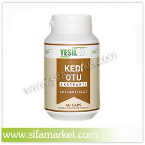 Yeşilex Kedi Otu Ekstraktı 700 mg (60 Kapsül)