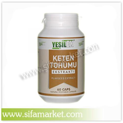 Yeşilex Keten Tohumu Ekstraktı 420 mg (60 Kapsül)