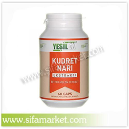 Yeşilex Kudret Narı Ekstraktı 700 mg (60 Kapsül)