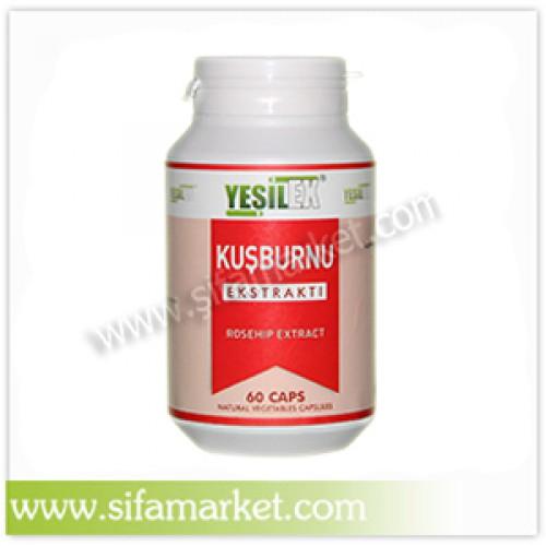 Yeşilex Kuşburnu Ekstraktı 500 mg (60 Kapsül)