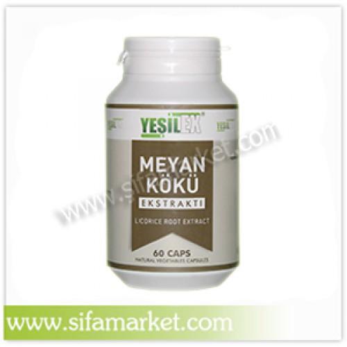 Yeşilex Meyan Kökü Ekstraktı 700 mg (60 Kapsül)