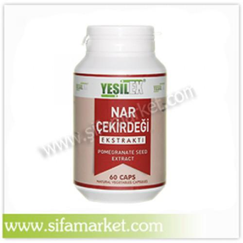 Yeşilex Nar Çekirdeği Ekstraktı 720 mg (60 Kapsül)