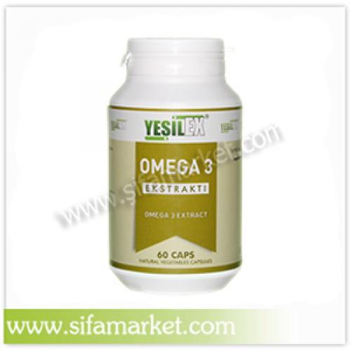 Yeşilex Omega 3 1000 mg (60 Kapsül)