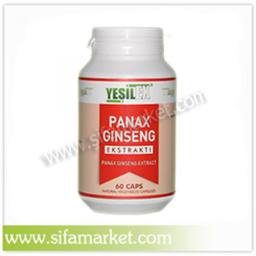 Yeşilex Panax Ginseng Ekstraktı 680 mg (60 Kapsül)