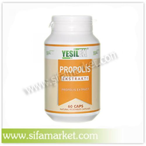 Yeşilex Propolis Ekstraktı 650 mg (60 Kapsül)