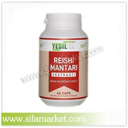 Yeşilex Reishi Mantarı Ekstraktı 400 mg (60 Kapsül)