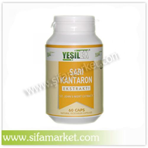 Yeşilex Sarı Kantaron Ekstraktı 750 mg (60 Kapsül)