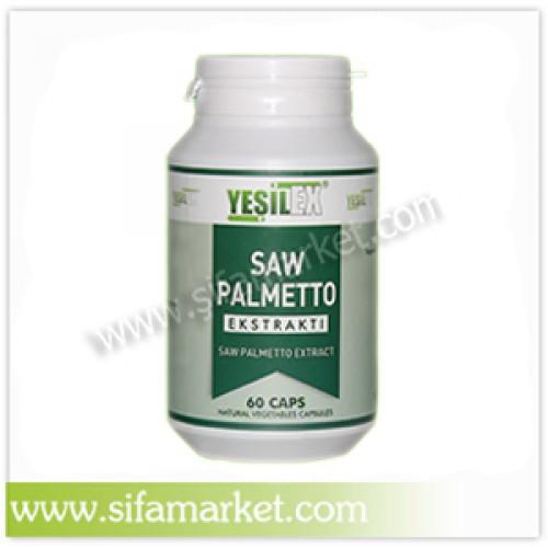 Yeşilex Saw Palmetto Ekstraktı 500 mg (60 Kapsül)