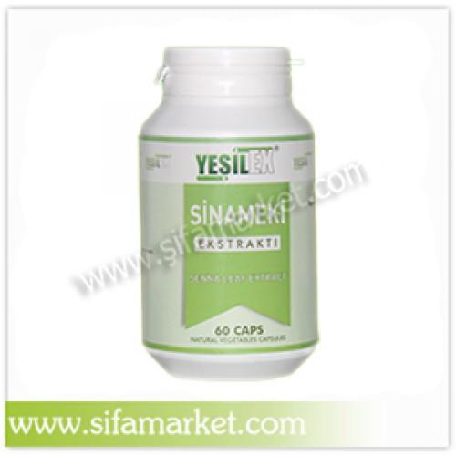 Yeşilex Sinameki Ekstraktı 650 mg (60 Kapsül)