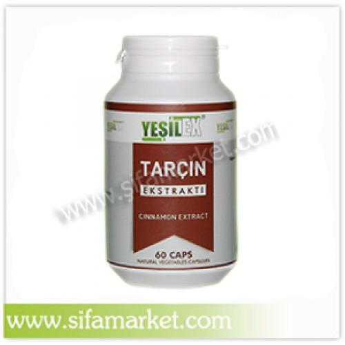 Yeşilex Tarçın Ekstraktı 600 mg (60 Kapsül)