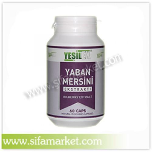 Yeşilex Yaban Mersini Ekstraktı 700 mg (60 Kapsül)