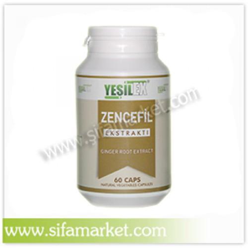 Yeşilex Zencefil Ekstraktı 550 mg (60 Kapsül)