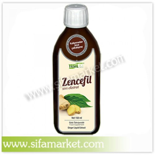 Yeşilex Zencefil Sıvı Ekstraktı 150 ml.