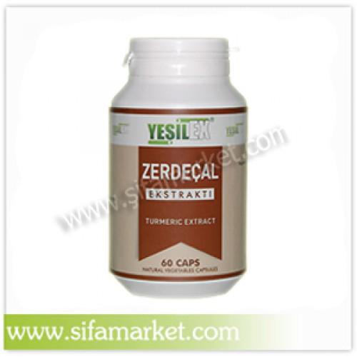 Yeşilex Zerdeçal Ekstraktı 500 mg (60 Kapsül)