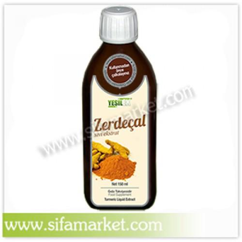 Yeşilex Zerdeçal Sıvı Ekstraktı 150 ml.