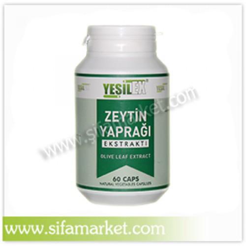Yeşilex Zeytin Yaprağı Ekstraktı 650 mg (60 Kapsül)
